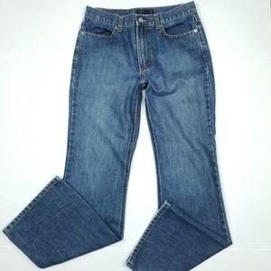J. Crew 100% Cotton Bootcut jeans sz 6 EUC
